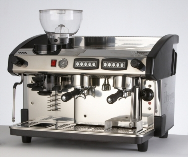 Elegance 2 Group Espresso Machine with Integral Grinder